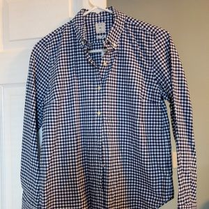 Gap Women's Petite Button-Down Shirt